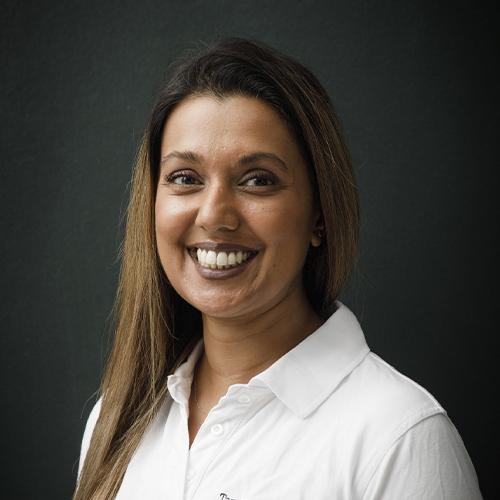 Tandplejer Rozina Charania